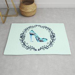 Cinderella' slipper Rug