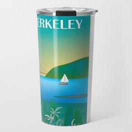 Berkeley, California - Skyline Illustration by Loose Petals Travel Mug