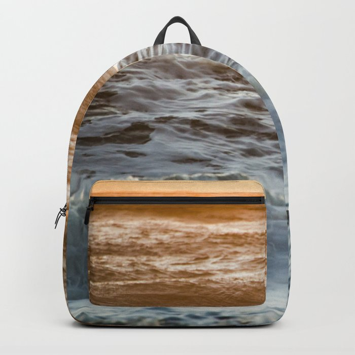Coral Ocean Sunset Backpack