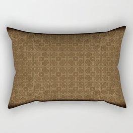 Maya pattern Rectangular Pillow