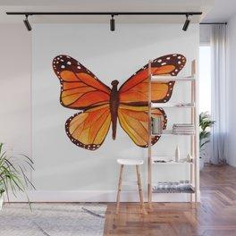 Sunset Butterfly Wall Mural