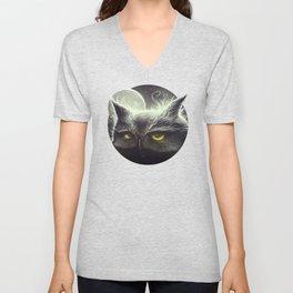 Owl & The Moon Unisex V-Neck