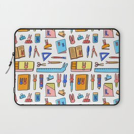Bunny Stationery Love Laptop Sleeve
