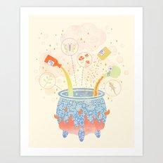 Dream Potion Art Print