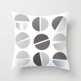Studious Circles Throw Pillow