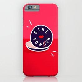 Girl Power - Morning Routine #girlpower #motivational iPhone Case