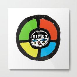 Simon Metal Print