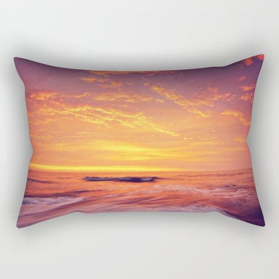 Endless Ocean Contains Everything. Rectangular Pillow