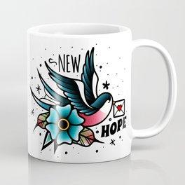 Old School Swallow Coffee Mug