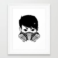 exo Framed Art Prints featuring Exo by TatianaQ