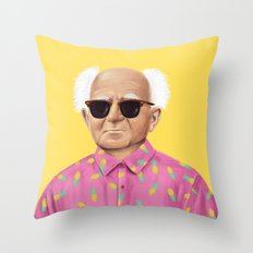 The Israeli Hipster leaders - David Ben Gurion Throw Pillow
