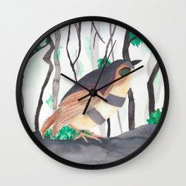 Oh, Nightingale Wall Clock