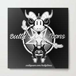BullyToons Baphomet Metal Print