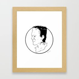 Frank Framed Art Print