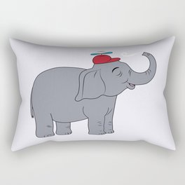 Happy elephant Rectangular Pillow