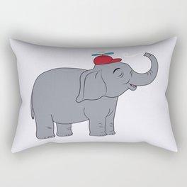 Happy elephant Rectangular Pillow