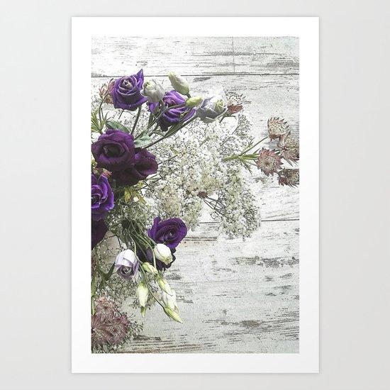 Pure beauty Art Print