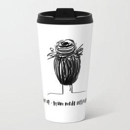 Hair up - Mum mode activated Travel Mug