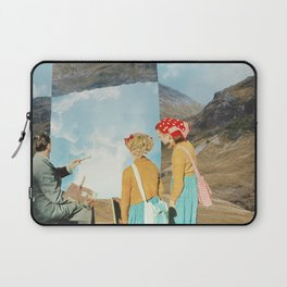 Two Wildly Different Perspectives Laptop Sleeve