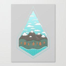 Terrarium 1 Canvas Print