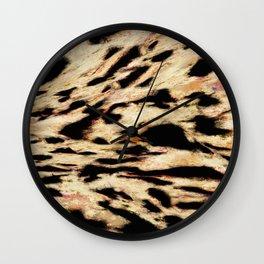 Big rock scraper Wall Clock