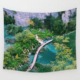 Plitvice Lakes, Croatia Wall Tapestry