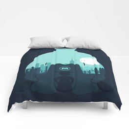 Welcome To Monsters, Inc. Comforters