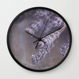 lavande Wall Clock