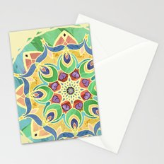 Sand and Silk Mandala 2 Stationery Cards
