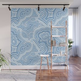 Blue Lace Agate Wall Mural