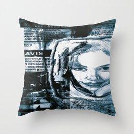 avis Throw Pillow