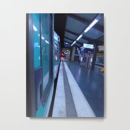 Paris urban metro Metal Print