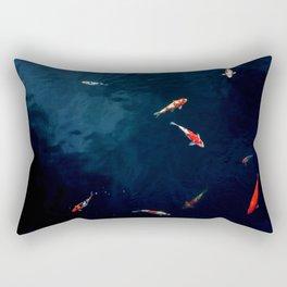 Koi Around Rectangular Pillow