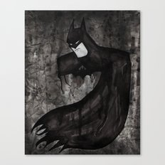 Black Bat Canvas Print