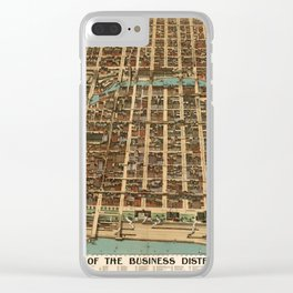 Chicago 1898 Clear iPhone Case