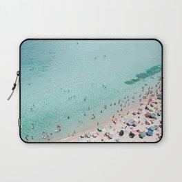 Busy Beach Laptop Sleeve