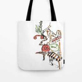 9-11, Mr. Lonely Tote Bag
