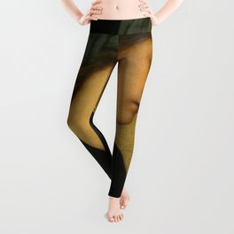Edward Burne-Jones - Flamma Vestalis Leggings