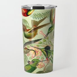 Ernst Haeckel Trochilidae 1904 Poster Travel Mug
