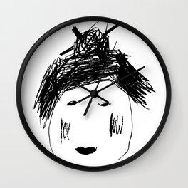 Japanese Bianca Wall Clock