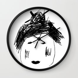 Japanese Bianca Wall Clock