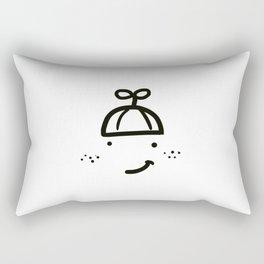 FRECKLED CHILL HAT Rectangular Pillow