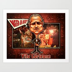 The Godfather concept! Art Print