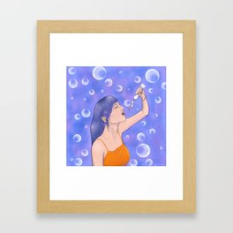 Take My Breath Away Framed Art Print