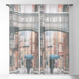 Staple Street Stranger Sheer Curtain