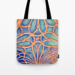 Geometry in the cloister Tote Bag