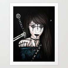 Voices in the Dark Art Print