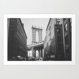 NEW YORK CITY VIII / Brooklyn Bridge Art Print