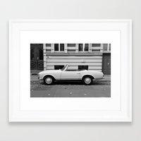 mercedes Framed Art Prints featuring Mercedes Oldtimer by Vincent Weisser