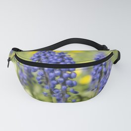 Tiny Blue Flowers Fanny Pack